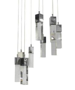 Подвесная светодиодная люстра Kink Light Аква 08510-9A(4000К)