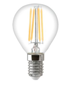 Лампа светодиодная филаментная Thomson E14 5W 6500K шар прозрачная TH-B2372