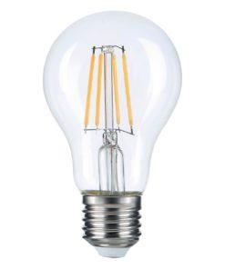 Лампа светодиодная филаментная Thomson E27 7W 2700K груша прозрачная TH-B2059