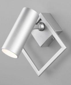 Светодиодный спот Eurosvet Turro 20091/1 LED серебро