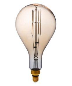 Лампа светодиодная филаментная Thomson E27 8W 1800K груша прозрачная TH-B2171
