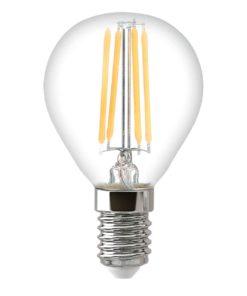 Лампа светодиодная филаментная Thomson E14 9W 6500K шар прозрачная TH-B2337