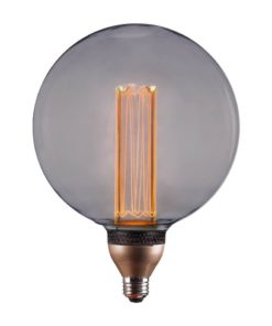 Лампа светодиодная диммируемая Hiper E27 8W 1800K дымчатая HL-2253