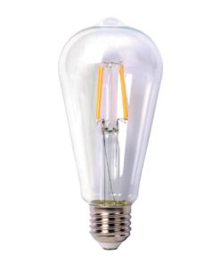 Лампа светодиодная филаментная Thomson E27 9W 4500K прямосторонняя трубчатая прозрачная TH-B2108