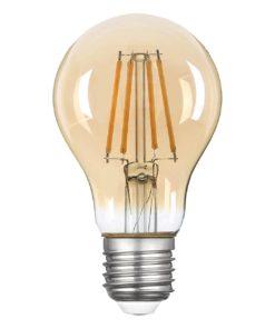Лампа светодиодная филаментная Thomson E27 5W 2400K груша прозрачная TH-B2109