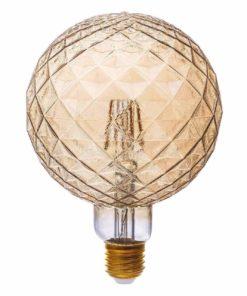 Лампа светодиодная филаментная Thomson E27 4W 1800K шар прозрачная TH-B2193