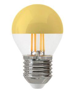 Лампа светодиодная филаментная Thomson E27 4W 2700K шар прозрачная TH-B2379