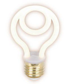 Лампа светодиодная филаментная Thomson E27 4W 2700K трубчатая матовая TH-B2403