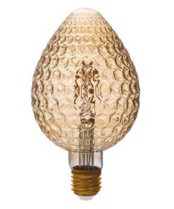 Лампа светодиодная филаментная Thomson E27 4W 1800K свеча прозрачная TH-B2192