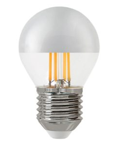 Лампа светодиодная филаментная Thomson E27 4W 4500K шар прозрачная TH-B2376
